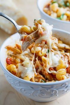 Chicken Parmesan Soup - Omit pasta and just go with suggested extra vegetables like diced zucchini