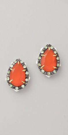 thorn stud earrings