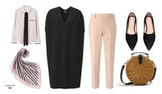 """""""Simple Layering"""" by aneeqlondon on Polyvore featuring Uniqlo, MANGO and modestfashion"""