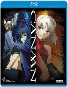 Canaan Blu-ray Complete Collection (Hyb) #RightStuf2013