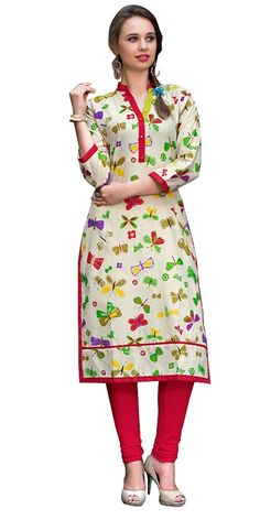 9317167cfd1 Sd Fabrics Women s Cotton Multicolor Kurta (Sdf-Skm-Dha-112 Xx-Large)   Amazon.in  Clothing   Accessories