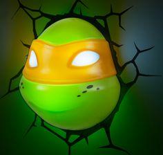 3d teenage mutant ninja turtle light