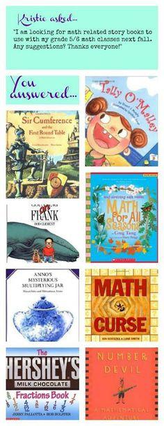 Math books for bedtime