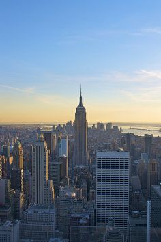 Go to the 'top of the rock' for the best view in NY!  http://www.timeout.com/newyork/attractions/top-of-the-rock-observation-deck-at-rockefeller-center