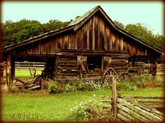 What a neat old barn...Would be very cool to be part of a barn house