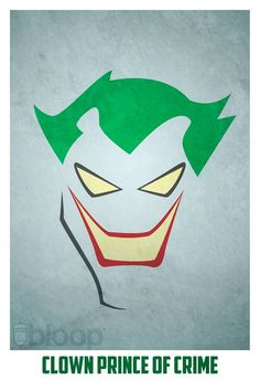Joker- Amazing Minimalist Superhero Posters