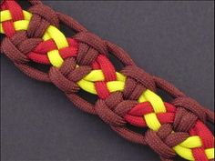 Woven Snakebite Bar... really cool bracelet to give as a gift