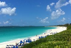 The view from the One & Only Ocean Club, Paradise Island, Bahamas