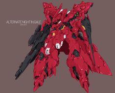 Robot Art, Robots, Robot Factory, Gundam Model, Nightingale, Mobile Suit, Art Reference, Lego, Sci Fi