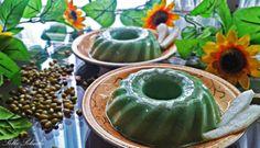 Rafselinda's Diary ♥: Pandan Green Bean Pudding (Puding Kacang Hijau Pandan) - By Sella Selinda