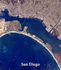 This city is the home of the @Padres. Follow #ISSPlayBall for every @MLB city from space: http://1.usa.gov/1IDfUoo