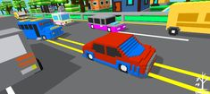 Blocky Highway Unity Game Template ( $79) Blocky Highway is an exciting endless one-touch game in which you touch buttons to move the car left or right, or tilt your phone to turn the car. #blackfriday #cybermonday #gametemplate #gamesourcecode #unitysourcecode #blockhighway #unitygametemplate Unity Games, Reward System, Super Deal, Tilt, Cyber Monday, Black Friday, Coding, Buttons, Touch