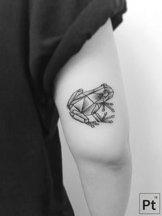geometric frog tattoo                                                                                                                                                                                 More