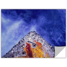 Dean Uhlinger Edge Of Reason Removable Wall Art, Size: 36 x 48, Yellow