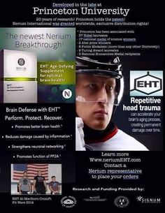 EHT brain health supplements #brainhealth protecting neuronal networking order yours at www.clayandfetu.nerium.com with your no risk 30 day money back guarantee