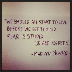 #inspiration #MarilynMonroe #life #live #goosecraft