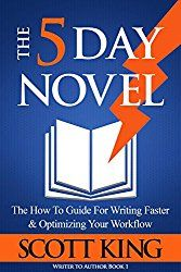 042 How to Write A 5 Day Novel With Scott King #casylpodcast  #authorinterviews  #fictionwriting  #writingproductivity