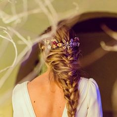 Novias – Aniburech Wedding Braids, Braided Hairstyles For Wedding, Cool Hairstyles, Bridal Hairstyles, Easy Everyday Hairstyles, Good Hair Day, Bridal Beauty, Hair Inspiration, Marie