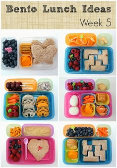 More great Bento Lunch Ideas: Week 5