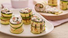 Ricetta Rotolini di zucchine con crudo e robiola - Le Ricette di GialloZafferano.it