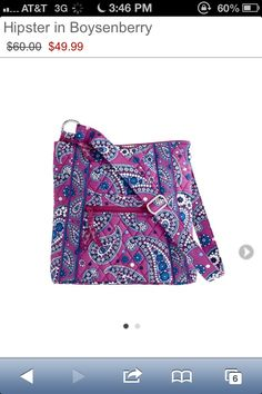Cutest Vera Bradley purse ever!!! ::))
