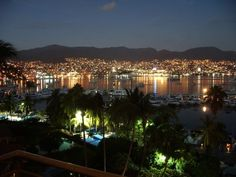 Been Here: Acapulco at night