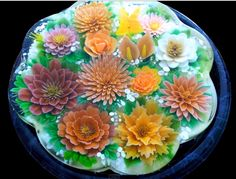 3D Jelly Flowers