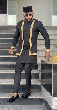 African men's clothing / African fashion / wedding suit / dashiki / African men's shirt / African clothing / shirt and pants / African Male Suits, African Wear Styles For Men, African Shirts For Men, African Dresses Men, African Attire For Men, African Clothing For Men, African Style, Indian Style, African Outfits