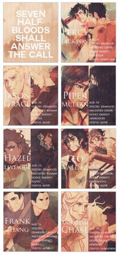 NO but, the reason annabeth chase and Percy Jackson are  unknown is because they are still in tartarus!!! X''C