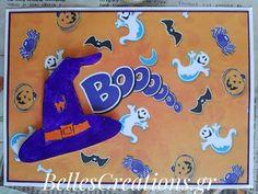 BellesCreations.gr: Boooo Smurfs, Creations, Snoopy, Fictional Characters, Art, Art Background, Kunst, Gcse Art, Art Education Resources