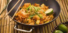 Pad Thai z kurczakiem i tofu