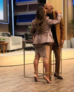 Image may contain: 2 people, people standing and shoes Lori Harvey, Marjorie Harvey, Steve Harvey, Black Celebrities, Celebs, Boyfriend Girlfriend Texts, 9th Wedding Anniversary, Significant Other, Girl Fashion