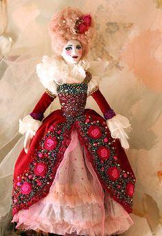 Fiber Art, Doll by mskris 09 via flickr