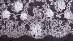 Venetian Lace by the Yard   Length: This fabric is sold by the yard