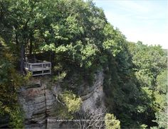The Beautiful Canyons of Illinois' Starved Rock State Park