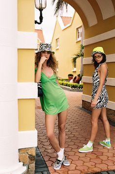 Bamba Swim Has All Your Bikini Style Dreams Covered In This Collection Bamba Swim, One Piece Suit, Sheer Fabrics, Bikini Fashion, Green Dress, Sexy Bikini, Cool Girl, Vintage Inspired, Fitness Models