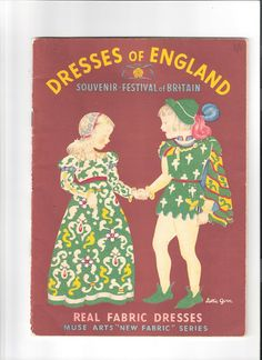 All About My Paper Dolls.....: Dresses of England