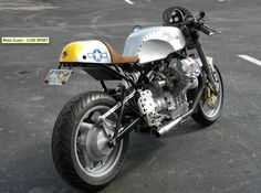 1997 Moto Guzzi Cafe Racer For Sale in Tampa, Florida, USA 300 miles original mileage. New custom paint New custom cafe seat new racing electronic ignition Rebuilt carburators Customized by SANTIAGO CHOPPER Cafe Racer For Sale, Cafe Racer Bikes, Moto Guzzi, Chopper, Cafe Seating, Bikes For Sale, Sportbikes, Tampa Florida, Custom Paint