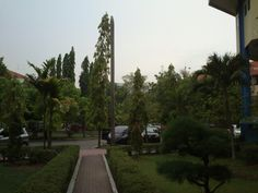 Gloomy tuesday.. 04:33p.m @librarypark with @DeeviDee