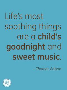 Nicely put, Mr. Edison.