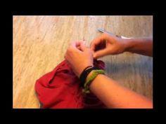 How to Cut a Triple-Weave Zumba Tank - YouTube