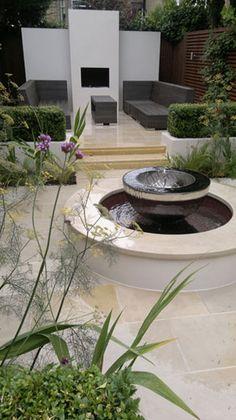 Fontaine de Jardin Centrale Borne Pixel (plusieurs coloris)