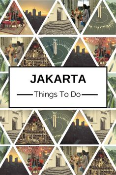 A lot of people think there's not much to do in Jakarta, Indonesia as a tourist. I used to think the same thing, but then one day I decided to explore my city. Here are 15 Things to do in Jakarta. No. 6 is the Best One!