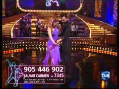 Mira quién baila, Paso doble:  Carmen Janeiro dances in TVE dance contest with famous people.