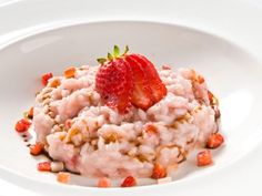 This seasonal risotto recipe made using fresh strawberries is perfect for spring.