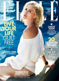 Charlize Theron for Elle Canada August 2016