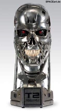 Terminator 2: T-800 Endoskelett Büste - Combat Deluxe http://spaceart.de/produkte/te011.php