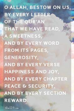 O Allah