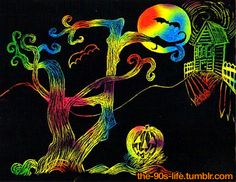 Who remembers Scratch Art?!