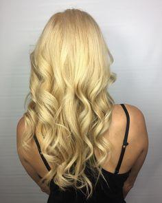 barbie blonde     beautiful hair done by @hair.by.caitlin.keyser